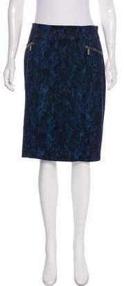 MICHAEL Michael Kors Printed Pencil Skirt