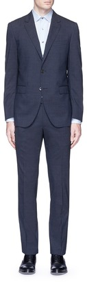 'Attitude' textured wool suit