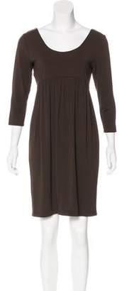 Yansi Fugel Gathered Mini Dress