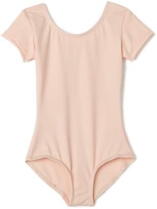 Capezio Little Girls' Team Basic Short Sleeve Leotard