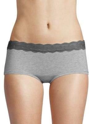 Cosabella Avi Lace-Trimmed Boy Short Panties
