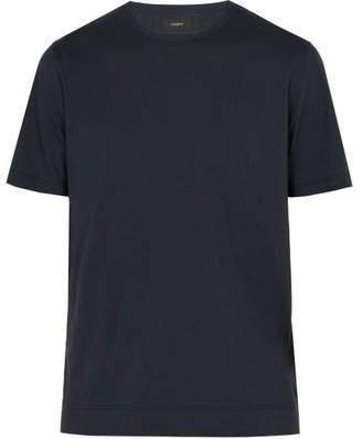 Joseph Mercerized Cotton T Shirt - Mens - Navy