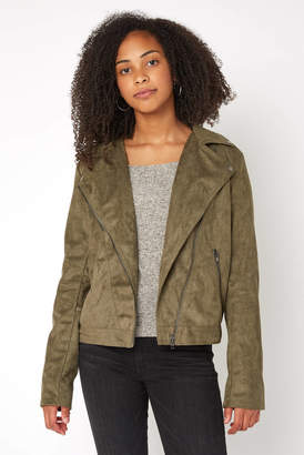 Ark & Co Suede Moto Jacket