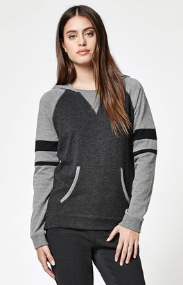 Element Wanted Varsity Stripe Pullover Hoodie $45 thestylecure.com