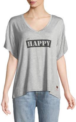 Peace Love World Mia Happy Short-Sleeve Tee