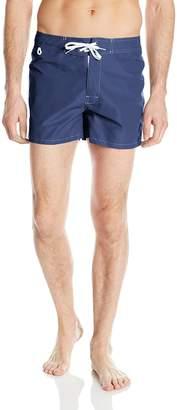 Sundek Men's Classic 14 Fixed Waist Swim Short