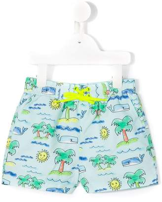 Stella McCartney Taylor beach print swim shorts