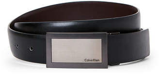 Calvin Klein Smooth Leather Reversible Belt