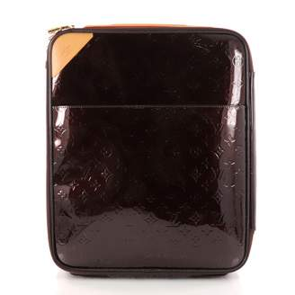 Louis Vuitton Pegase patent leather travel bag