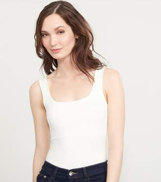 Dynamite Tank Top With Wide Straps OFF WHITE