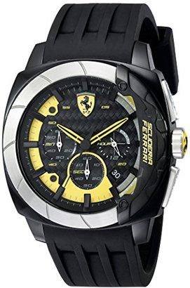 Ferrari (フェラーリ) - フェラーリメンズ830206 AerodinamicoブラックWatchwithシリコンストラップ