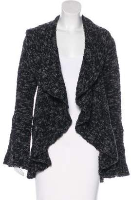 Diane von Furstenberg Open-Front Wool-Blend Cardigan