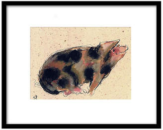 The Portfolio Collection Bella Pieroni - Pig II Art