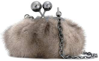 Max Mara small fur pouch