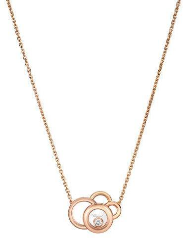 Chopard Chopard Happy Dreams Necklace with Diamond in 18K Rose Gold