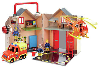 Fireman Sam Fire Station Rescue Set