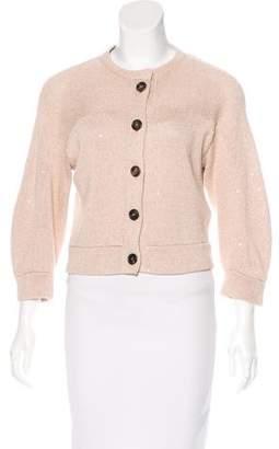 Brunello Cucinelli Button-Up Knit Cardigan