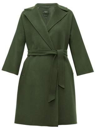 Max Mara Ted Coat - Womens - Dark Green