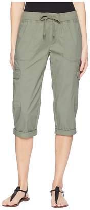 Chaps Stretch Cotton Capri Pant Women's Casual Pants