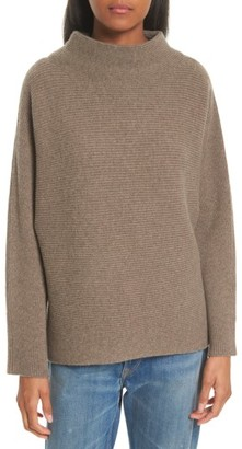 Women's Vince Ribbed Wool & Cashmere Sweater $365 thestylecure.com