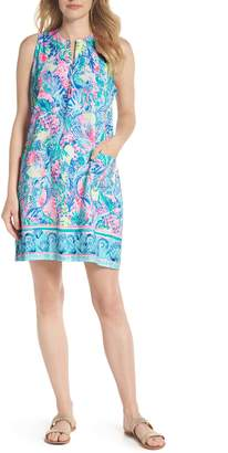 Lilly Pulitzer R) Kelby Stretch Shift Dress