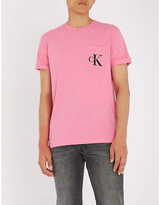 Calvin Klein Jeans Tolan cotton-jersey T-shirt