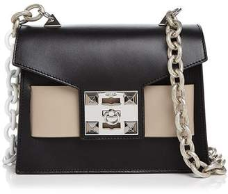 Mila Louise Salar Color-Block Leather Shoulder Bag c74d6ecb27575
