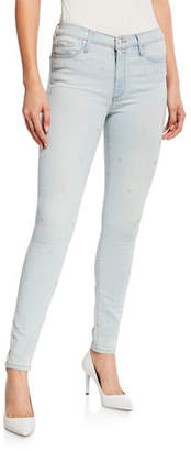 Black Orchid Gisele High-Rise Super Skinny Jeans w/ Allover Stars
