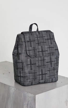 BCBGMAXAZRIA Juliet Plaid Leather Backpack