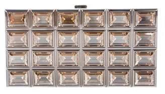 Judith Leiber Crystal Box Clutch Gold Crystal Box Clutch