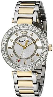 Juicy Couture Women's 1901322 Cali Two-Tone Steel Watch $225 thestylecure.com