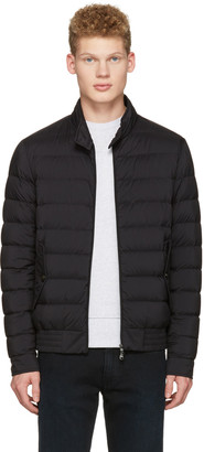 Moncler Black Down Ignace Jacket $785 thestylecure.com