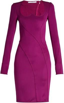 Givenchy Sweetheart-neckline stretch mini dress