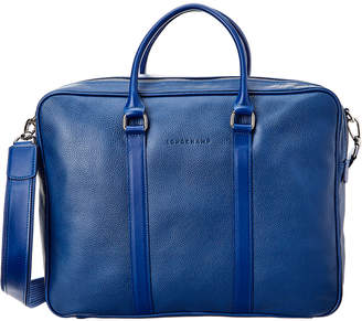 Longchamp Le Foulonne Leather Briefcase