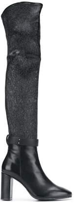 Stuart Weitzman heeled knee-length boots