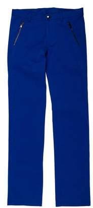Versace Four-Pocket Straight-Leg Pants