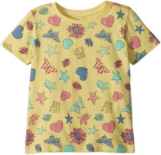 Life is Good Float Like a Butterfly Crusher Tee Girl's Clothing