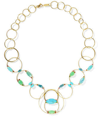 Ippolita Prisma 18-karat Gold Multi-stone Necklace