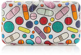 Judith Leiber Couture Pill Popper Clutch