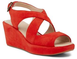 Johnston & Murphy Dana Wishbone Wedge Sandal