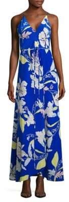 Yumi Kim Cleo Floral Print Maxi Dress