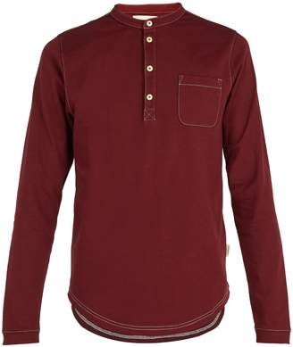 Oliver Spencer Swanfield cotton-jersey henley T-shirt