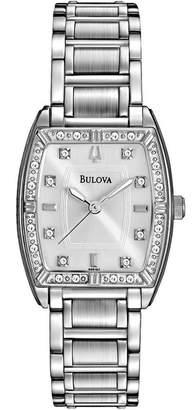 Bulova Women's Highbridge Diamond Bracelet Watch, 24mm - 0.12 ctw
