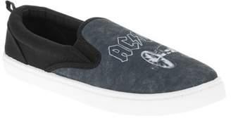 License Men's ACDC Canvas Slip-On Shoe
