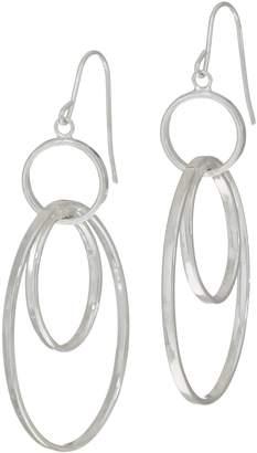 Sterling Silver Dangle Earrings by Silver Style