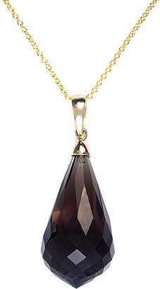 Effy Fine Jewelry 14K 26.00 Ct. Tw. Smoky Quartz Necklace