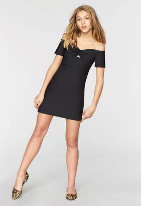 Milly MINIS TECH STRETCH EMME DRESS