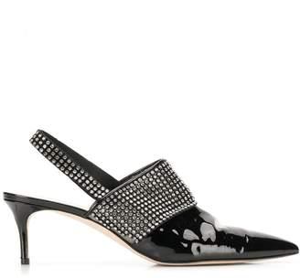 Christopher Kane crystal sling back shoe