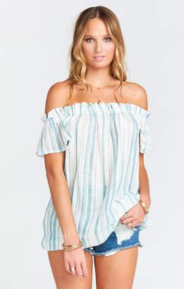 Show Me Your Mumu Woodstock Tunic ~ Point Dume Stripe