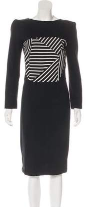 Boy By Band Of Outsiders Striped Midi Dress